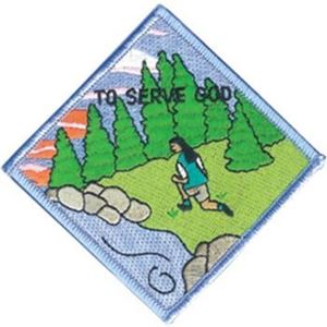 Picture of GSUSA To Serve God Patch Segment: Anchor Patch