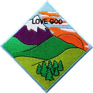 Picture of AHG Love God Patch Segment: Mountain