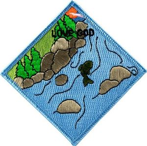 Picture of AHG Love God Patch Segment: Fish