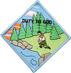 Picture of BSA Duty to God Patch Segment: Anchor Patch