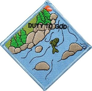 Picture of BSA Duty to God Patch Segment: Fish
