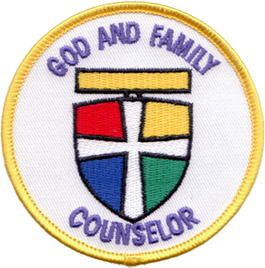 Picture of God & Family Counselor Patch