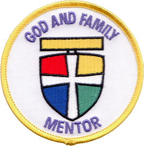 Picture of God & Family Mentor Patch