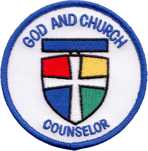 Picture of God & Church Counselor Patch