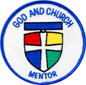 Picture of God & Church Mentor Patch