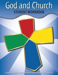 Picture of God & Church Student Workbook (Grades 6-8)