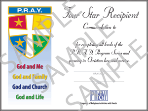 four star award certificate restrictions apply pray store