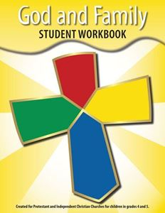 image relating to Home and Family Christmas Workbook titled God Spouse and children University student Workbook (Grades 4-6)