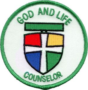 Picture of God & Life Counselor Patch