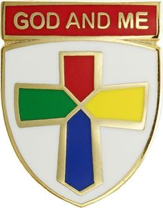 Picture of God & Me Pin