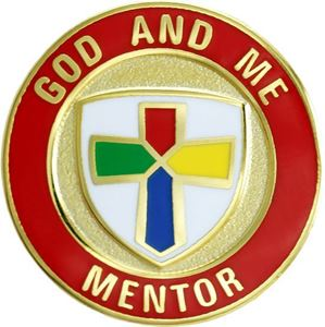 Picture of God & Me Mentor Pin