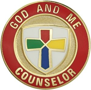 Picture of God & Me Counselor Pin