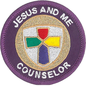 Jesus and Me Counselor Patch