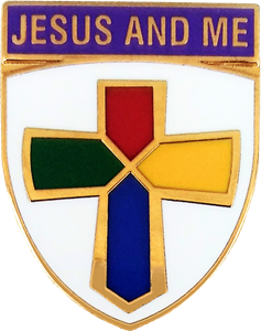 Jesus and Me Pin