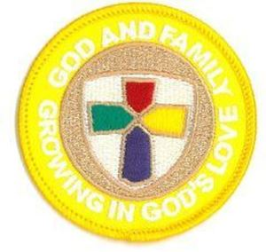 Picture of God & Family Patch