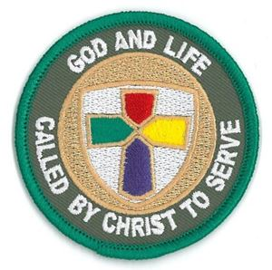 Picture of God & Life Patch