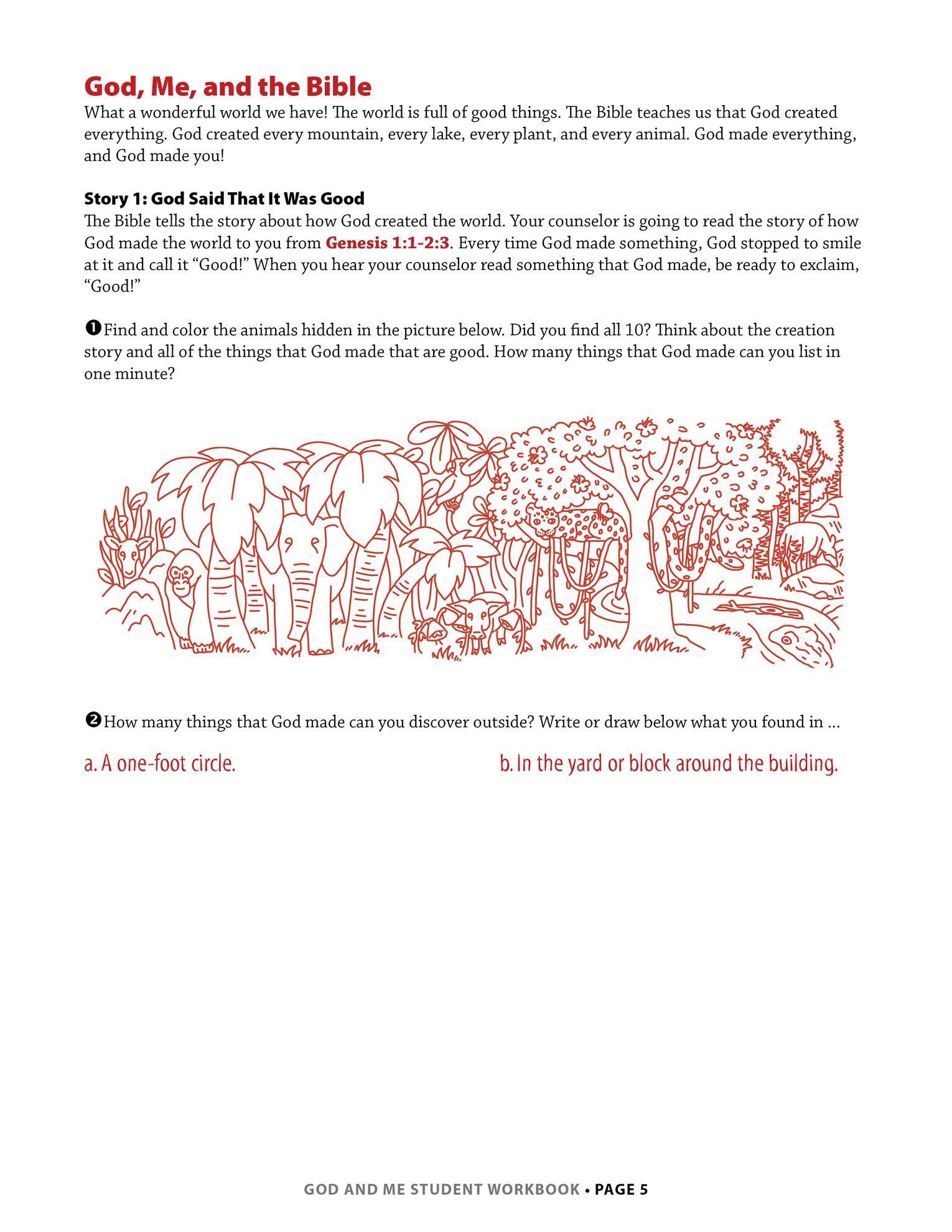Lesson 1, page 5