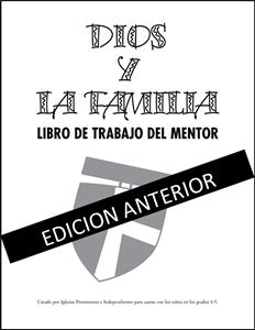 Picture of Dios y La Familia Libro de Trabajo del Mentor Adulto