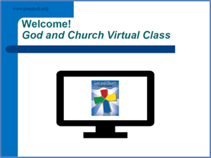 Picture of God & Church Virtual Class PowerPoint
