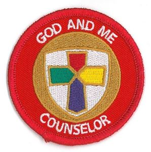 Picture of God & Me Counselor Patch
