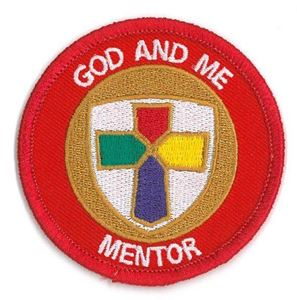 Picture of God & Me Mentor Patch