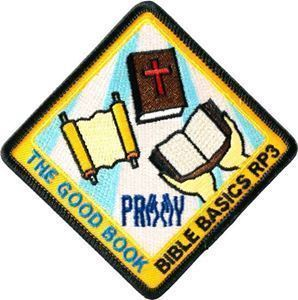 The Good Book Patch (included)