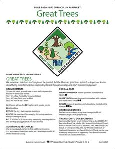 Picture of Great Trees Curriculum Pamphlet (PDF)