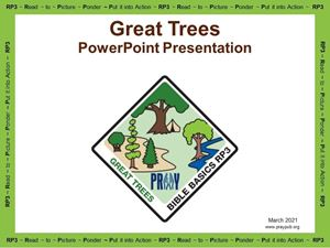 Picture of Great Trees PowerPoint Presentation