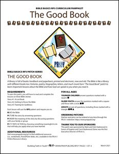 Picture of The Good Book Curriculum Pamphlet (PDF)