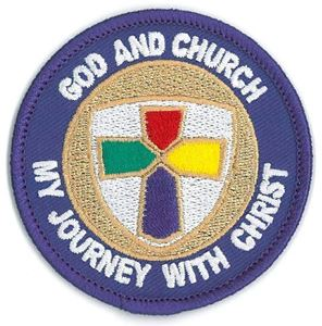 Picture of God & Church Patch