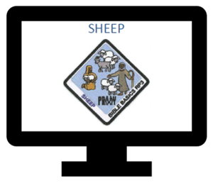 Sheep Patch (included)