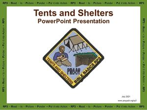 Picture of Tents and Shelters PowerPoint Presentation