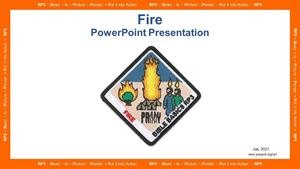 Picture of Fire PowerPoint Presentation
